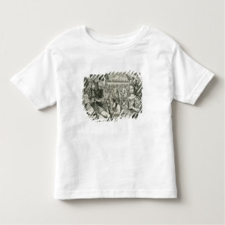 William III (1650-1702) and Mary II (1662-94) King Toddler T-Shirt