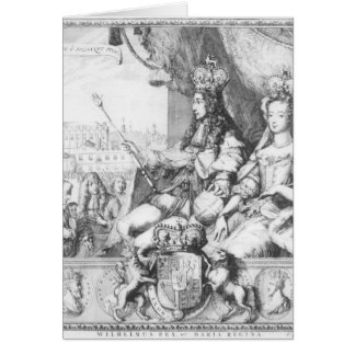 William III  and Mary II Cards