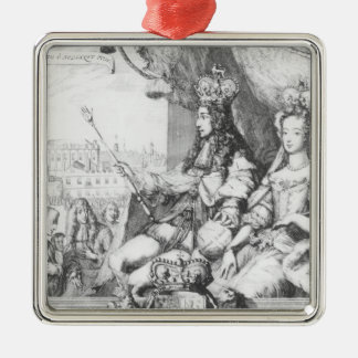 William III  and Mary II Christmas Tree Ornaments