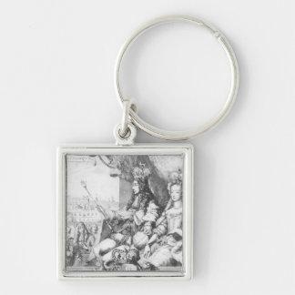 William III  and Mary II Key Chains
