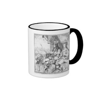 William III  and Mary II Coffee Mugs