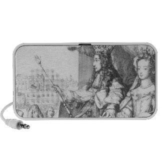 William III  and Mary II Laptop Speaker