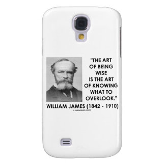 William James Art Of Being Wise Knowing Overlook Galaxy S4 Case