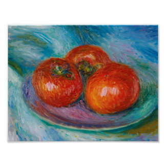 William James Glackens 1870 - 1938 THREE TOMATOES Poster