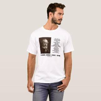William James Mass Of Habits Destiny Quote T-Shirt