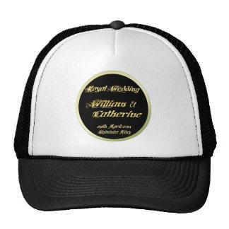 William & Kate Royal Wedding Collectibles Souvenir Mesh Hat