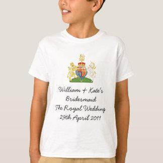 William & Kate's Bridesmaid T-Shirt