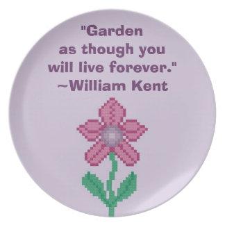 William Kent Garden Forever Plate