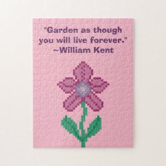 William Kent Garden Forever Quote Puzzle