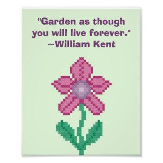 William Kent Gardening Quote Photograph