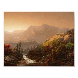 William Louis Sonntag - Autumn Landscape Photo Print