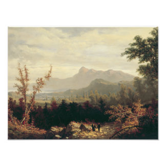 William Louis Sonntag - In the White Mountains Photographic Print