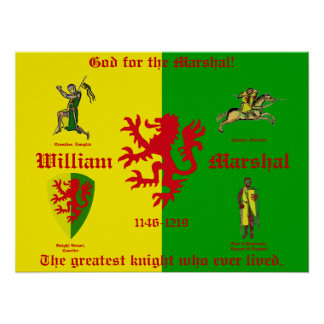 William Marshal Poster