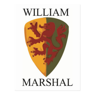 William Marshal Products Postcard