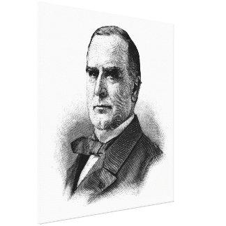 WILLIAM McKINLEY Sketch Beginners American History Canvas Prints