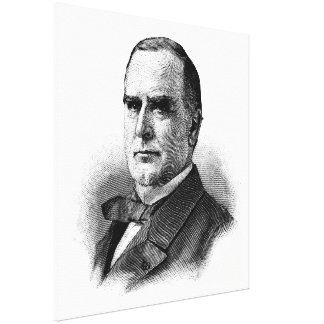 WILLIAM McKINLEY Sketch Beginners American History Canvas Prints