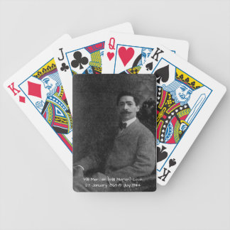 William Mercer (Will Marion) Cook Bicycle Playing Cards
