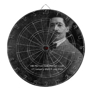 William Mercer (Will Marion) Cook Dartboard