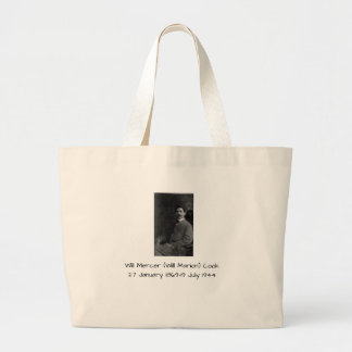 William Mercer (Will Marion) Cook Large Tote Bag