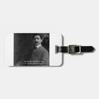 William Mercer (Will Marion) Cook Luggage Tag