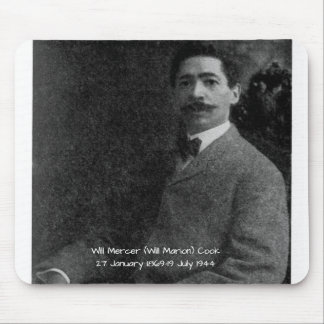 William Mercer (Will Marion) Cook Mouse Pad