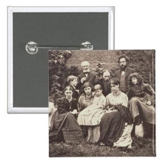 William Morris 1834-96 Sir Edward Burne-Jones 1 Pins