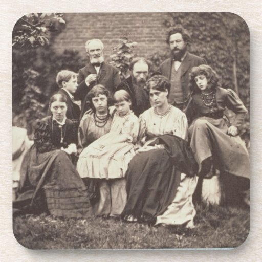 William Morris (1834-96) Sir Edward Burne-Jones (1 Beverage Coaster