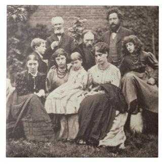 William Morris (1834-96) Sir Edward Burne-Jones (1 Large Square Tile