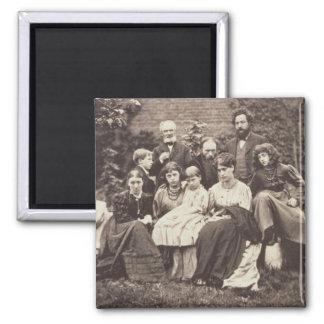 William Morris (1834-96) Sir Edward Burne-Jones (1 Square Magnet