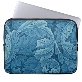 William Morris Acanthus in Blue Computer Sleeve