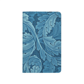 William Morris Acanthus in Blue Journal