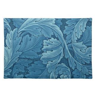 William Morris Acanthus in Blue Place Mat
