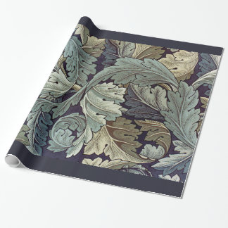 William Morris Acanthus Leaves Wrapping Paper