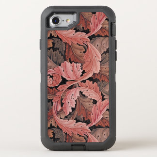 William Morris Acanthus Rose OtterBox Defender iPhone 7 Case
