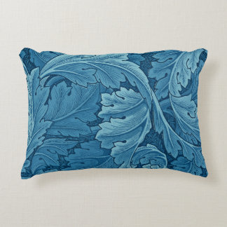 William Morris Acanthus Vintage Blue Decorative Cushion