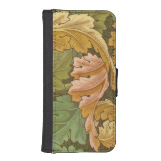 William Morris Acanthus Vintage Floral iPhone SE/5/5s Wallet Case