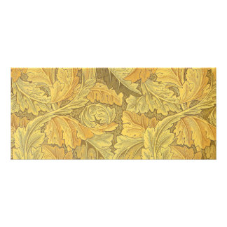 William Morris Acanthus Wallpaper Rack Card