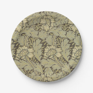 William Morris Anemone Pattern Paper Plate