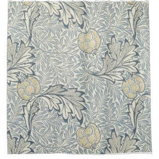William Morris Apple Pattern Shower Curtain. Shower Curtain