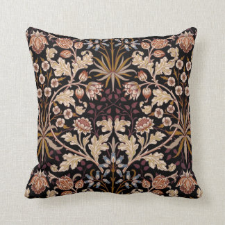 William Morris Art Nouveau Throw Pillow