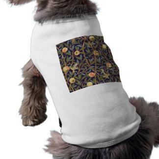 William Morris Bird And Pomegranate Vintage Art Sleeveless Dog Shirt