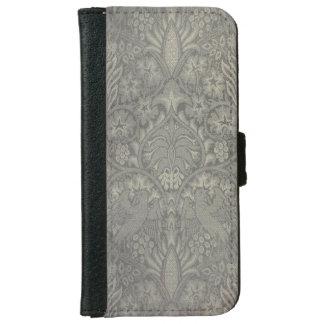 William Morris Bird and Vine Pattern iPhone 6 Wallet Case