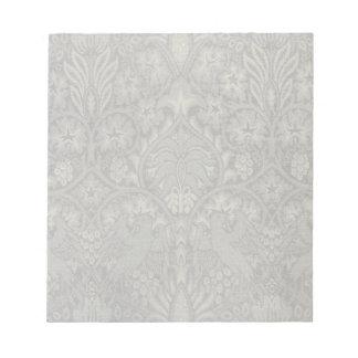William Morris Bird and Vine Pattern Notepad