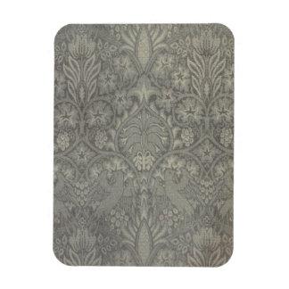 William Morris Bird and Vine Pattern Magnets
