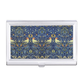 William Morris Bird Pattern Business Card Holder