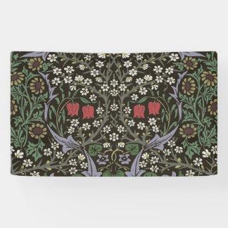 William Morris Blackthorn Tapestry Art Print Banner