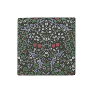 William Morris Blackthorn Tapestry Art Print Stone Magnet