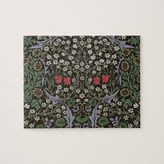 William Morris Blackthorn Tapestry Vintage Floral Jigsaw Puzzle