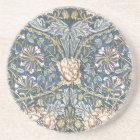 William Morris Blue Floral Coaster