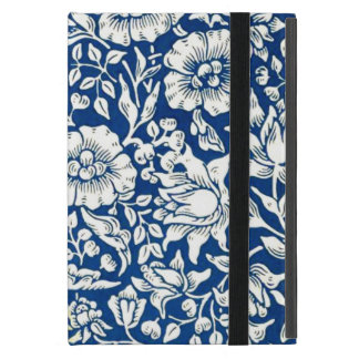 William Morris - Blue Mallow vintage floral design Covers For iPad Mini